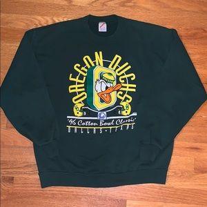 Vintage Oregon Ducks/Disney 1996 Sweater